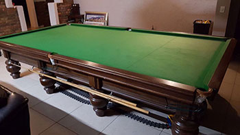 championship size snooker table